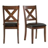 Alexa Standard Height Side Chair Set in Cherry - Picket House Furnishings DAX100SC