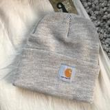Carhartt Accessories | Fashion Grey Carhartt Watch Cap Beanie Hatnew | Color: Gray | Size: Os