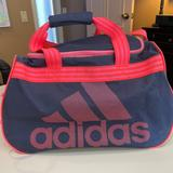 Adidas Other | Adidas Defender Duffel Overnight Travel Tote 18 | Color: Blue/Orange | Size: Os