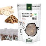 [Medicinal Korean Herb Tea] 100% Natural Roasted Lotus Root Tea 볶은 연근 차 50g / 15 teabags