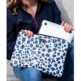 SCOUT Bags Laptop Computer Cases City - Blue & Black Leopard City Kitty 15'' Laptop Sleeve