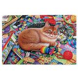Puzzles for Adults 1000 Piece Cat Kitten On Puzzles Jigsaws Puzzles Wall Art Kids Family Puzzle Games Jigsaws Jigsaws Gifts Office Decoration Poster Puzzles