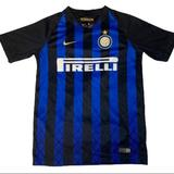 Nike Shirts & Tops | Nike Inter Milan Italy Youth Soccer Jersey | Color: Black/Blue | Size: Lb