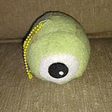 Disney Toys | Mike Wazowski Tsum Tsum Keychain Plush Cute Cuddly | Color: Green/Yellow | Size: Kids