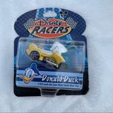 Disney Toys | Disney Park Disney Racers Donald Duck Die Cast Car | Color: Blue/Gold | Size: Osb