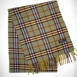 Burberry Accessories | Burberry Soft Lambswool Nova Plaid Scarf Excellent | Color: Brown/Gold | Size: Os