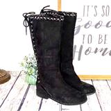 Michael Kors Shoes   Michael Kors Kid'S Black Suede Studded Boots   Color: Black/Gray   Size: 1g
