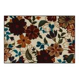 Maples Tatum Washable Kitchen & Throw Rug, Red, 2X5 Ft