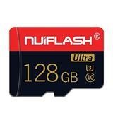 Micro SD Card 128GB Memory Card with A SD Card Adapter TF Memory Card/T-Flash Card Class 10 High Speed Memory Card for Camera Tablet Computer Phone Cellphone(128GB)