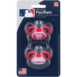 """""""San Francisco Giants Two-Pack Orthodontic Pacifier Set"""""""