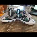 Converse Shoes   Infant-Baby-Toddler Converse Size 4   Color: Gray/Green   Size: 4bb