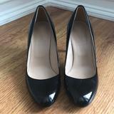 J. Crew Shoes | Jcrew Black Patten Leather Heels | Color: Black | Size: 6