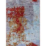 17 Stories Brazzell Red/Blue/Gold Area Rug Polyester/Wool in Blue/Red/Yellow, Size 108.0 H x 72.0 W x 0.35 D in   Wayfair