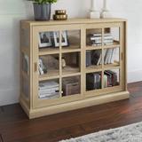 Beachcrest Home™ Taraval 2 Door Accent Cabinet Wood in Brown, Size 34.63 H x 43.88 W x 15.5 D in   Wayfair 4E871553D0734603B2D46ECB7B35681F