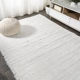Ebern Designs Runner Airick Area Rug Polypropylene in White, Size 60.0 H x 36.0 W x 1.97 D in | Wayfair A442BC81673044FEB2FDAA703011D7AC
