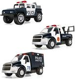 Corgi Chunkies Police Department Off Road Truck, Tow Truck and SWAT Armored Truck Triple Pack Toy Vehicles CHP09