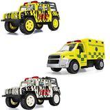 Corgi Chunkes Diecast Safari Tour Trucks & Ambulance Triple Pack Toy Vehicles CHP01