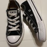Converse Shoes   Converse Kids Black Sneakers   Color: Black/White   Size: 12b