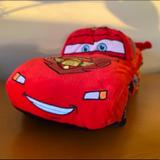Disney Toys | 16 Inches Cars Lightning Mcqueen Pillow Plush | Color: Red | Size: 16in X 8.5in X 7.5in Tall