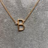 Anthropologie Jewelry   Anthropologie Gold Tone Necklace   Color: White/Yellow   Size: 16 + 2= 18