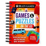 Brain Games Games & Puzzles On The Go, Multicolor