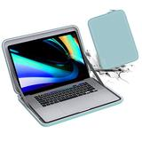 Smatree Laptop Hard Sleeve Case Compatible with 13 Inch New MacBook pro 2020 A2338 M1, MacBook Air 2020 13.3 inch , MacBook Pro 13 inch Sleeve, MacBook Air 13 inch Bag, Green