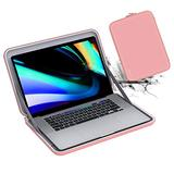 Smatree Laptop Hard Sleeve Case Compatible with 13 Inch New MacBook pro 2020 A2338 M1, MacBook Air 2020 13.3 inch , MacBook Pro 13 inch Sleeve, MacBook Air 13 inch Bag, Pink