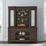 Liberty Furniture Industries Homestead Hutch & Buffet, Brown
