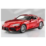 YGTY Casting Car Model 1:32 Toy Car for Toyota for Supra Toy Alloy Car Diecasts & Toy Vehicles Car Model Pull Back Model Car Toys for Children for Kids Gift (Color : RED)