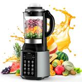 Blender for Shakes and Smoothies, Scozer 2000W High Speed Smoothie Blender for Kitchen, 59 Oz + 44 Oz Hot & Cold Countertop Glass Jars Food Blender for Cocktail, Soup, Juice, Cream