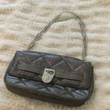 Michael Kors Bags | Michael Kors Quilted Leather Bag Chain Strap | Color: Gray | Size: Os