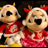 Disney Toys | Mickey & Minnie Lunar New Year 2021 Plush Toys | Color: Red | Size: 17