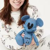 Disney Toys | Denim Mickey Mouse X Ae Special Edition Plush Doll | Color: Blue | Size: Osb