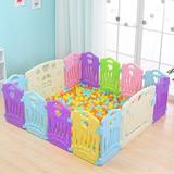 CHUNBIEGSR INC Children Safety Gate Plastic in Green, Size 23.62 H x 62.99 W x 62.99 D in   Wayfair thz17332