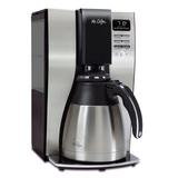 Mr. Coffee 10-Cup Coffee Maker in Gray, Size 15.0 H x 12.0 W x 10.0 D in | Wayfair 2131962