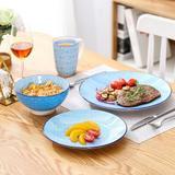 Latitude Run® Jabary Oriental 16 Piece Dinnerware Set for 4 Porcelain/Ceramic in Green | Wayfair DF0E093033CE495A9F5B8CE0278BE3BF