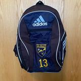 Adidas Accessories | Adidas Soccer Backpack Vail Valley Soccer Club | Color: Black/Blue | Size: Osb