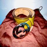 Gucci Accessories   Gucci Interlocking Belt   Color: Green   Size: 95