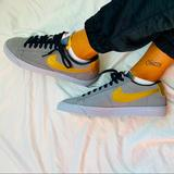 Nike Shoes   Nike Blazer Low Suede   Color: Gold/Gray   Size: 8.5