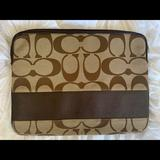 Coach Bags | Laptop Computer Sleeve | Color: Brown/Tan | Size: Os