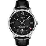 T-classic Chemin Des Tourelles Powermatic 80 Automatic Leather Watch - Metallic - Tissot Watches