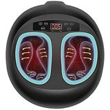 Gymbong Foot Massager Machine with Heat Deep Kneading Therapy,Shiatsu Foot Massager for Pressure Point Technology,Built-in Heat Function,Relax for Home