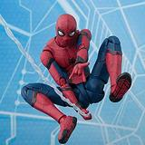 BJLWTQ Spider-Man Action Figure: Homecoming Super Hero Spider-Man Toys 16CM - Kids' Birthday Gift Collection- Home Car Decoration (Color : Spider-Man)