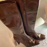 Nine West Shoes   Nine West Brown High Heels Ladies High Boots 8   Color: Brown   Size: 8