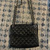 Rebecca Minkoff Bags | Black Studded Leather Rebecca Minkoff Bah | Color: Black/Silver | Size: Os