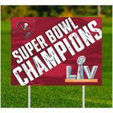 Tampa Bay Buccaneers Super Bowl LV Champions Yard Sign