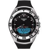 Sailing-touch Swiss Rubber Strap Watch - Metallic - Tissot Watches