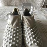 Michael Kors Shoes | Michael Kors Trainer Studded Sneakers. White S.10 | Color: White | Size: 10