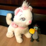 Disney Toys | Disney Aristocats Marie Plush Scat Cat Toy Lot | Color: Gray/White | Size: All Ages