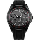 Marvel Punisher Black Polyurethane Strap Watch 44mm - Black - Citizen Watches